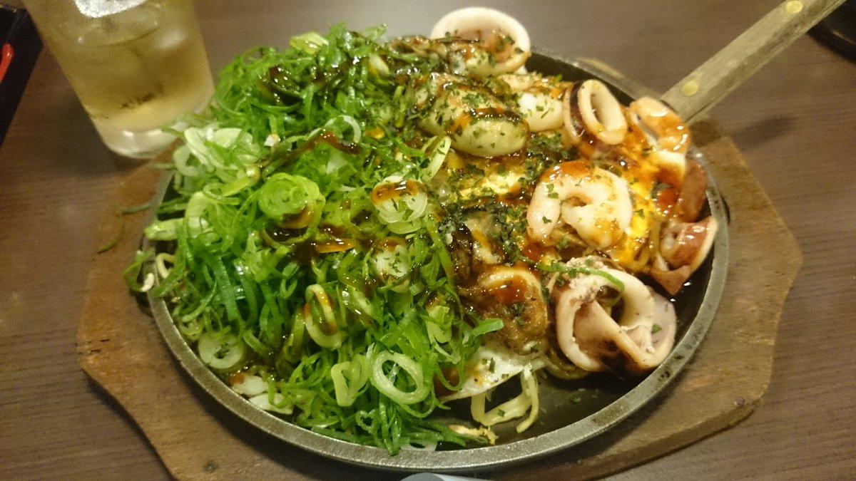 打ち上げ飯 #麺が入ってるから #menjolno #牡蠣も食べます #広島焼きも食べます https://t.co/YQYaOWtVOw