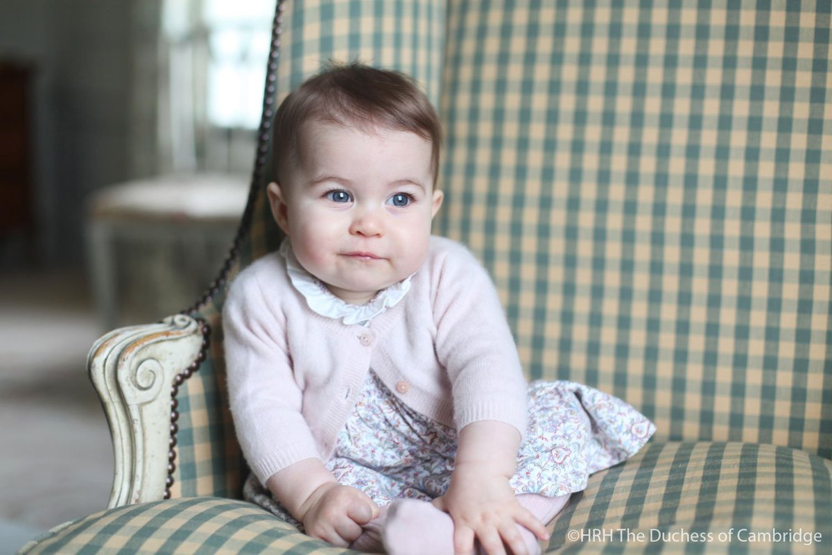 Here's Some New Pictures Of Princess Charlotte To Melt Your Heart