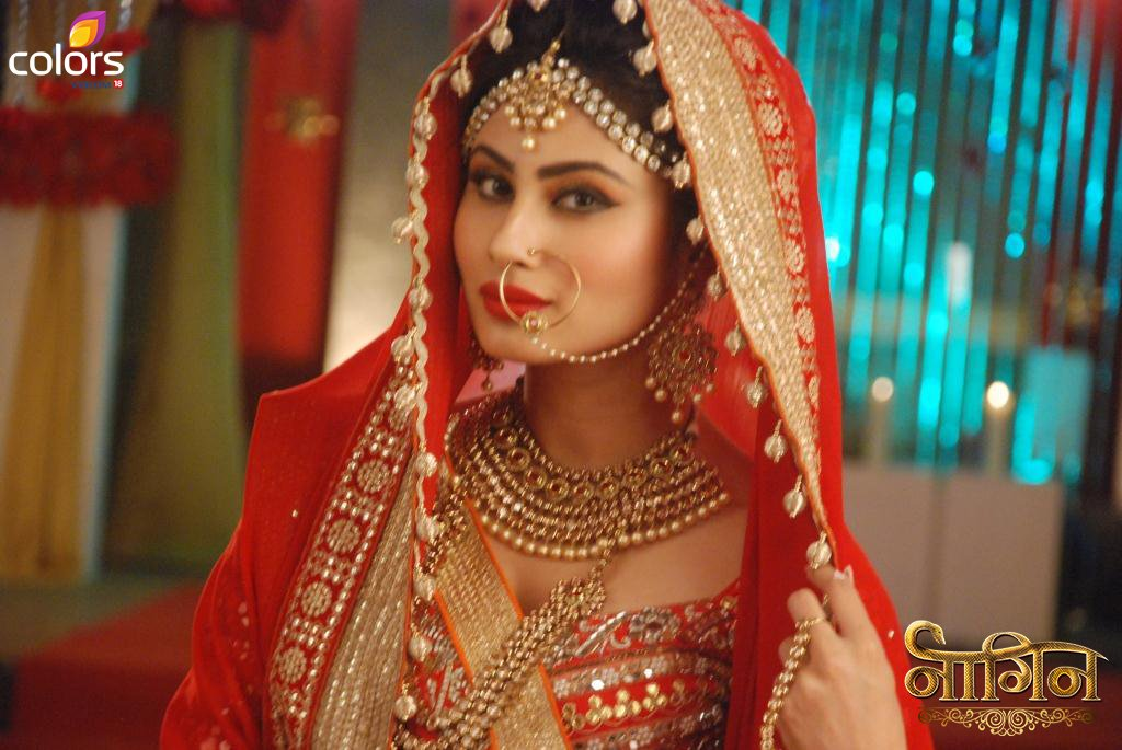Mouni Roy as Naagin Bridal Picture