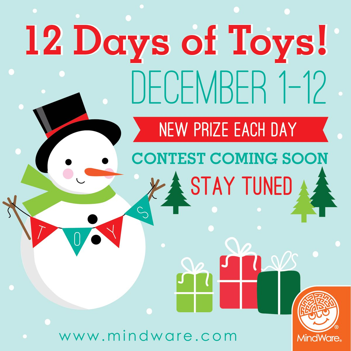 The MindWare 12 Days of Toys is near! #Contest #Giveaway #Toys #Games https://t.co/fvvRCSrRsu