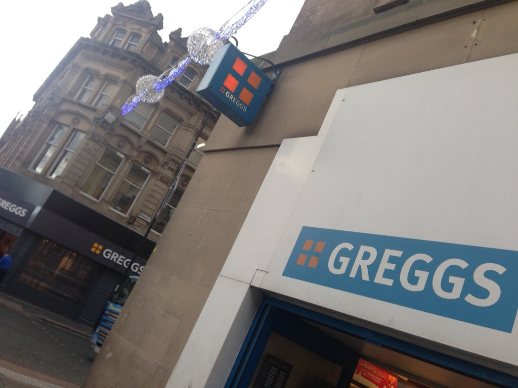 They're opening another Greggs in Newcastle. Great for those who don't want the inconvenience of crossing the road. https://t.co/EEbaR0l6ar