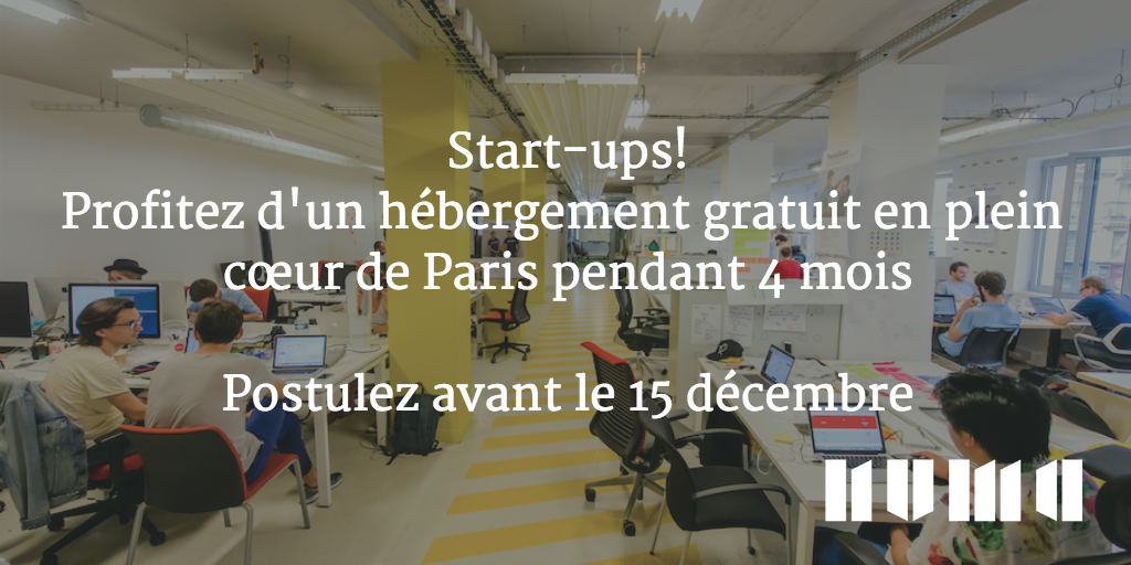 #startups, pour postuler au programme d'#acceleration de @NUMAparis c'est ici: https://t.co/cIX0oOaGDK #Paris https://t.co/qBoKbfo5D1
