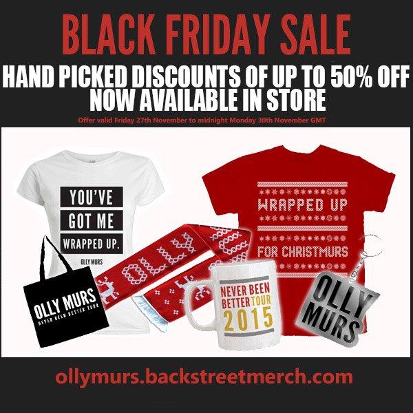 #BlackFriday merch deals available now! https://t.co/u1a0eP3kx6 🎅🏻 OllyHQ https://t.co/rexmaoj4J7