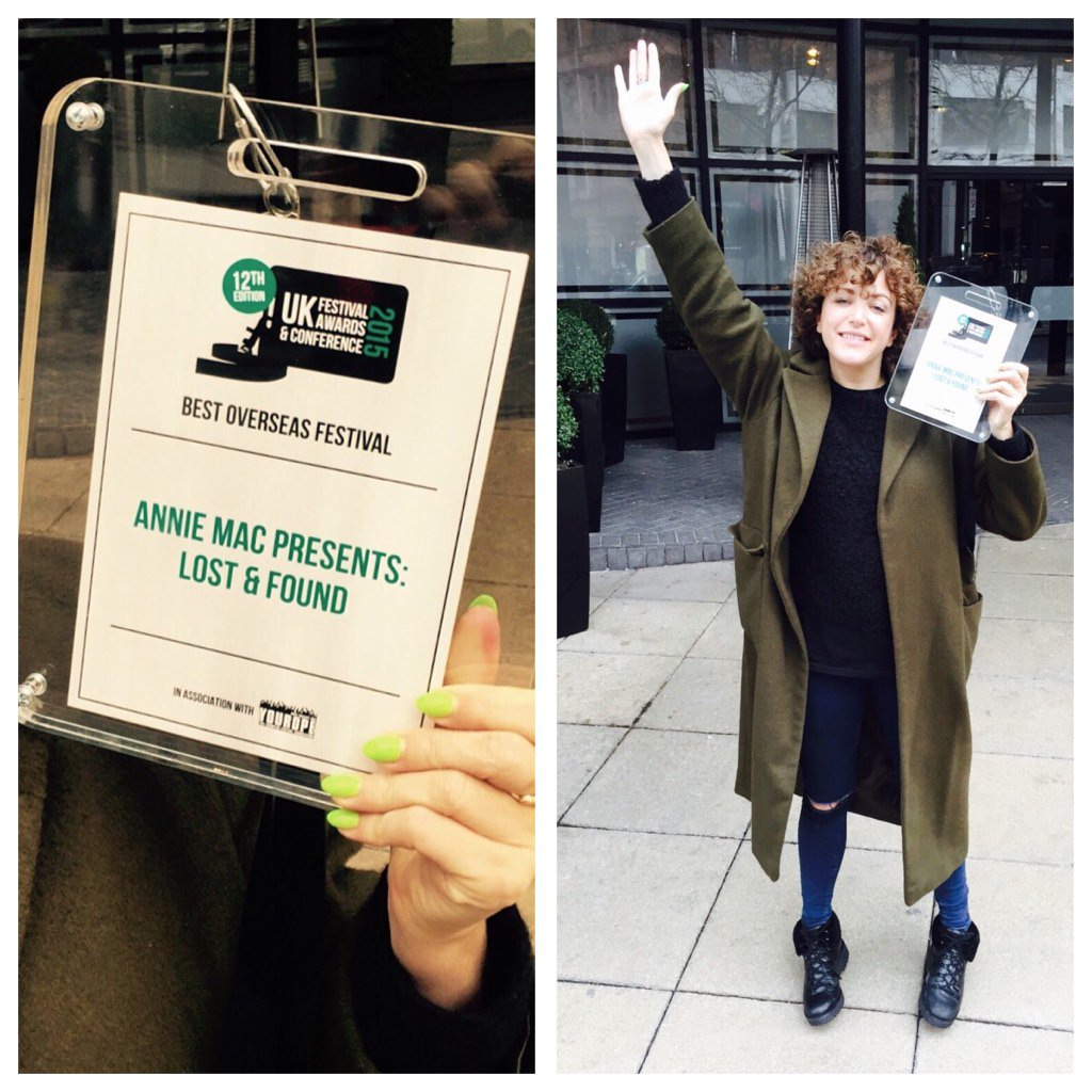 So delighted @AMPLostandFound won the Best Overseas festival award! 🏆✈️🍹🎉 Join us next year https://t.co/Ea17U4NAGp https://t.co/UCdyRXVcAU