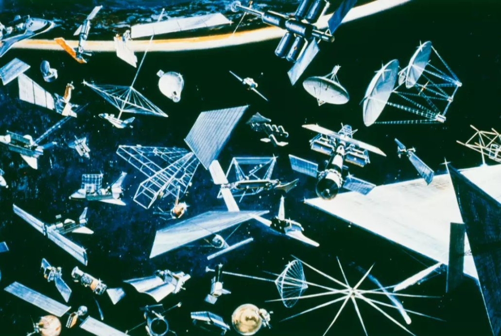 Space Debris, spazzatura dei detriti spaziali