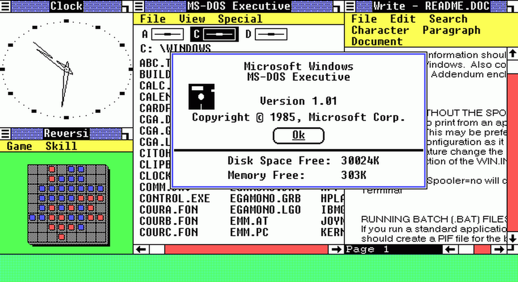 Windows turns 30. Here's the visual timeline. https://t.co/fHX0IkfOvn https://t.co/oyd7JFwH5h