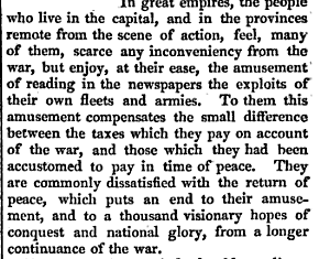 Adam Smith, in the Wealth of Nations, on why elites in imperial capitals love bombing & war  https://t.co/TidHtAVjne
