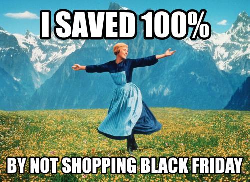 I saved 100% #blackfriday #fb https://t.co/xb3tBcew2G