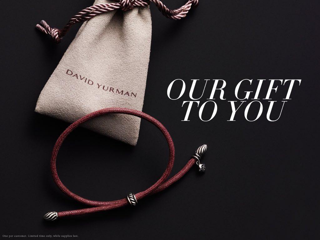 David Yurman On Twitter Celebrate Blackfriday Receive A Complimentary Cord Bracelet With Eligible Orders Shop Https T Co Tjztgquewj Https T Co Szjtbr6jsa