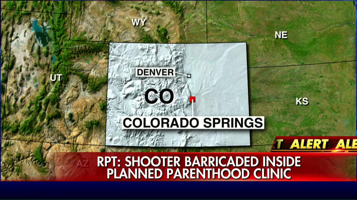 Colorado Springs active shooter NOT in Planned Parenthood