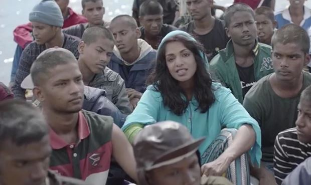 M.I.A. 'Borders' music video shows singer travelling with refugees