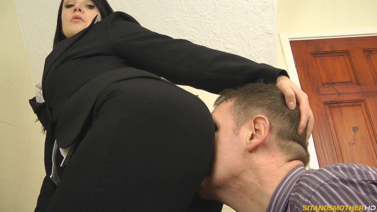 Femdom Boss Ass Kissing
