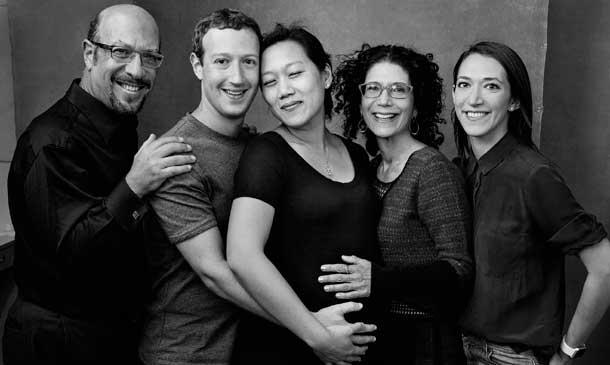 La famiglia Zuckerberg.