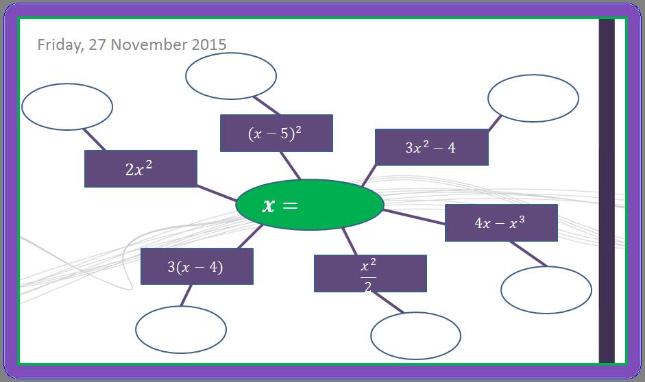 Gcse Maths Substitution Worksheet Tes - fun algebra ...
