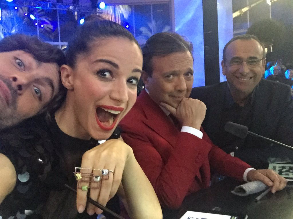 Foto Selfie a Sanremo Giovani