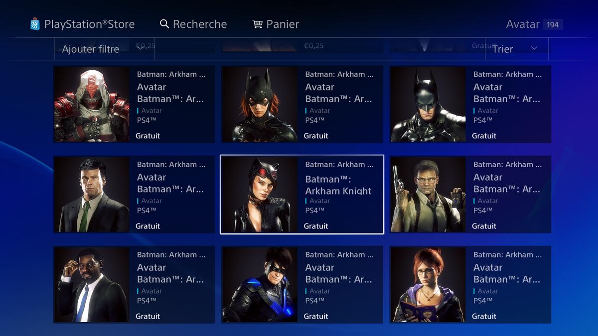 damonx on twitter 12 avatars gratuits de batman arkham knight psstore ps4 ps4share httpstco1aygvxjlzs