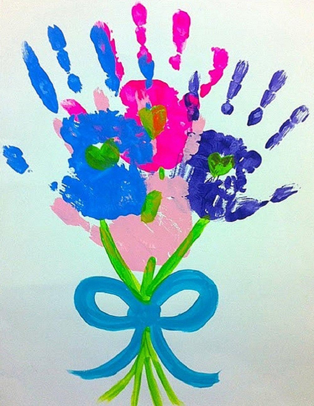 Поздравительные открытки рисунки руками детей