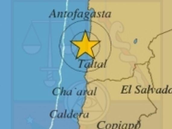 Terremoto Oggi Cile: forte scossa M6.2 nella regione di Antofagasta