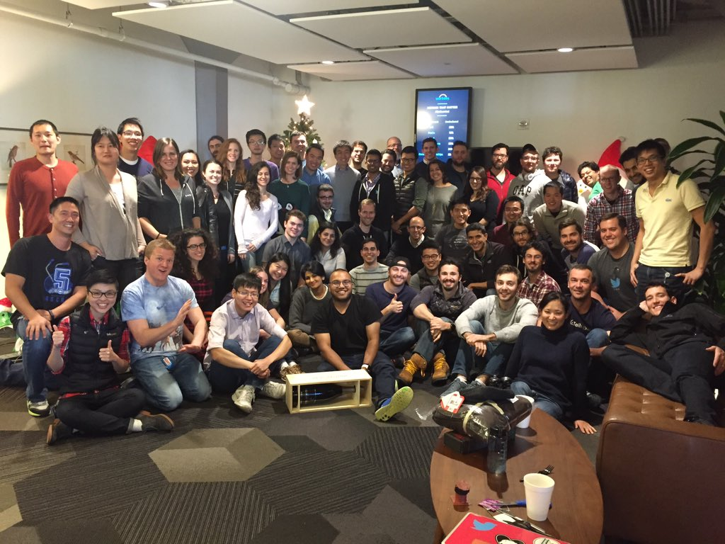 The holidays have officially arrived!  @tellapart team living up #BlackFriday @twitter https://t.co/754cnnHh0k