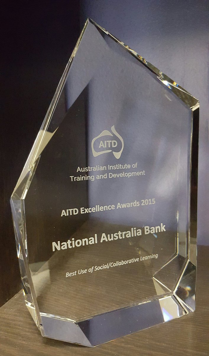 Best Use of Social/Collaborative Learning awarded to @NAB #AITDawards https://t.co/RUDr9Ex876