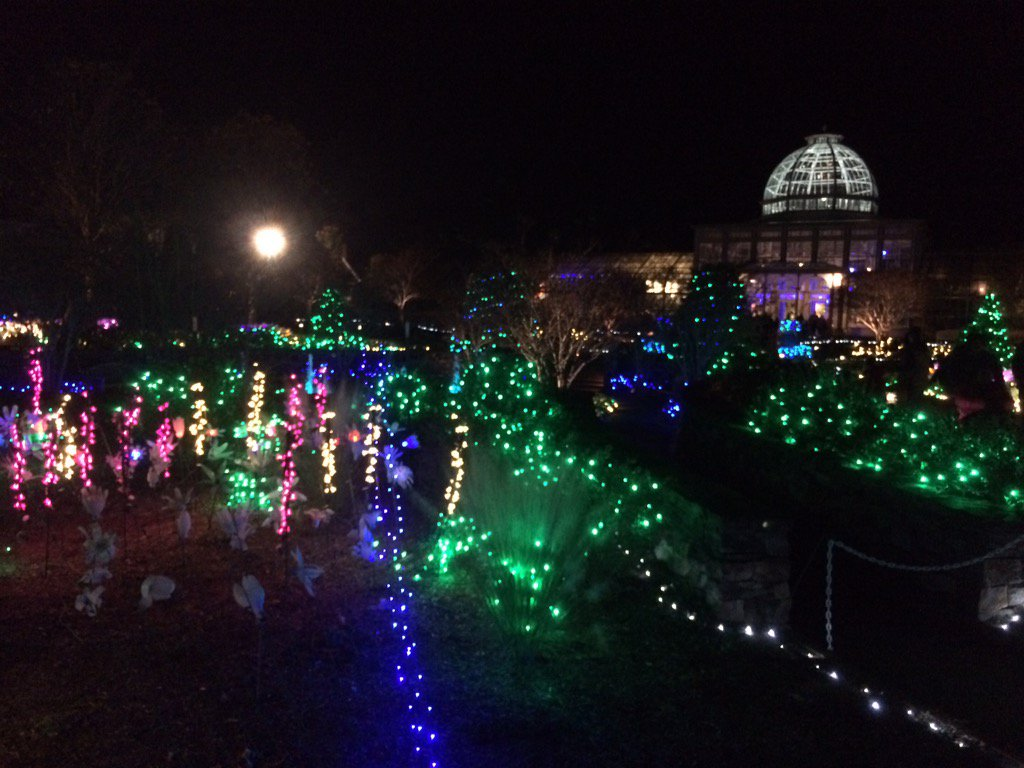 So this is what a half a million lights looks like at Dominion GardenFest of Lights! #rva #GardenFest https://t.co/q2hdJmwMhC