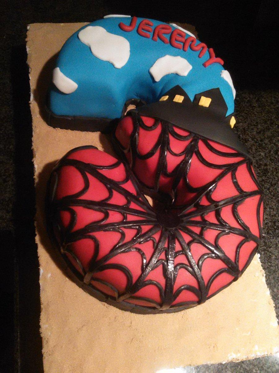 Groovy Baeb Cake Designs On Twitter Happy Birthday Jeremy Spiderman Funny Birthday Cards Online Alyptdamsfinfo
