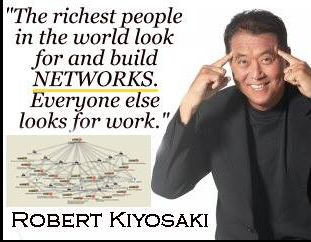 The richest people in the #world look for and build #networks! Everyone else looks for #work - Robert Kiyosaki <br>http://pic.twitter.com/Xn6neSIlMv