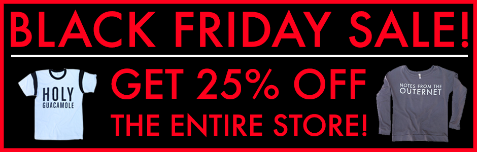 RT @JaredLetoMerch: ✔️ HOLY GUACAMOLE, have YOU saved yet!? Get 25% OFF ALL #JLMerch for #BlackFriday! — https://t.co/U0meJ24xNr https://t.…