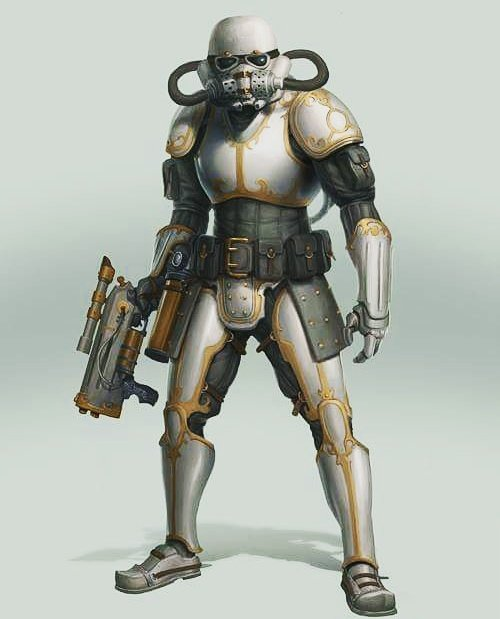 Steam Punk Storm Trooper   #steampunk  #stormtroopers