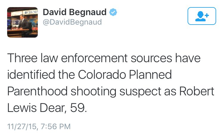 Robert Lewis Dear – Colorado Springs Shooter?