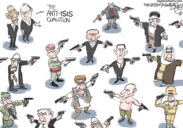 The Anti-ISIS Coalition.