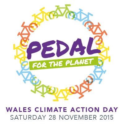 Big day today ... pedalling for the planet and then Climate Change Rally at 1400 at the Senedd - who else is coming? https://t.co/4yTZk8sdd5