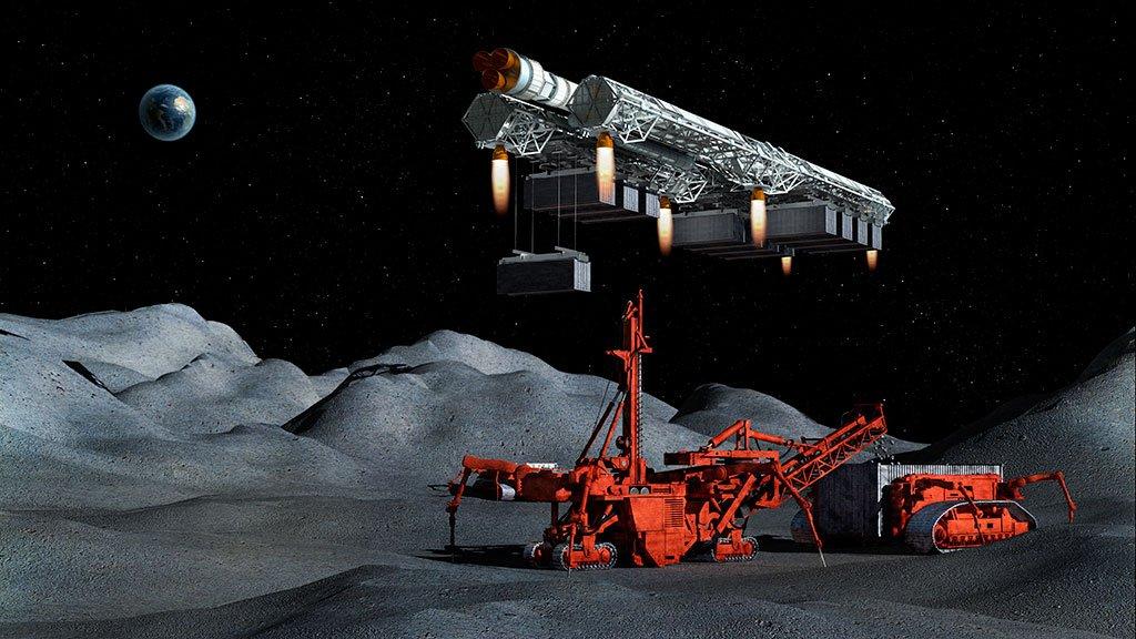 asteroid mining machinery - 900×506