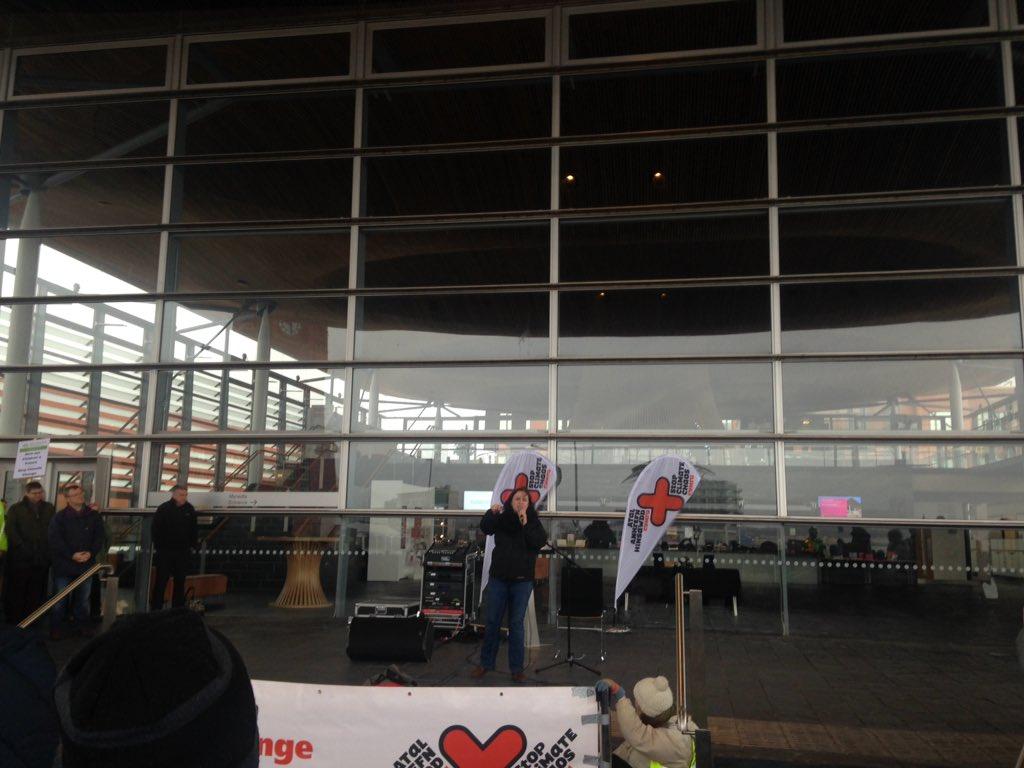 @ElunedParrottAM from @WelshLibDems: 'change must happen!' #FairClimateDeal https://t.co/YAbaFOwS2c