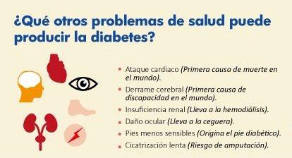 otros problemas relacionados con la diabetes