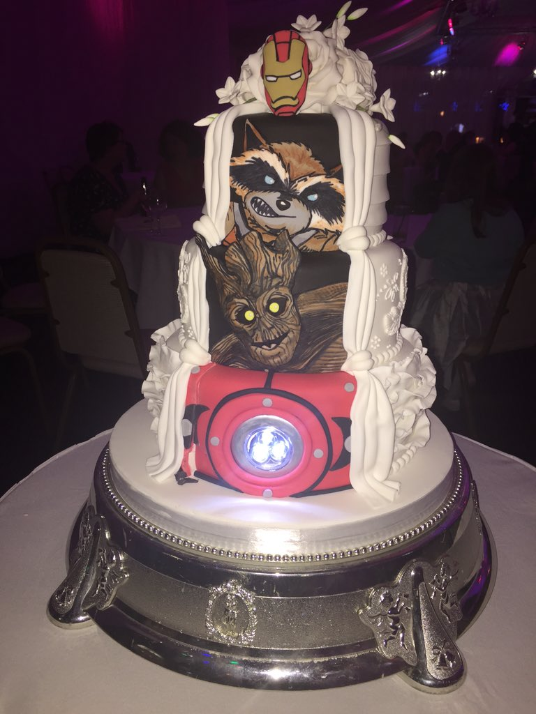 guardians of the galaxy wedding cake catherine stihler on quot smcmahon msp 15009