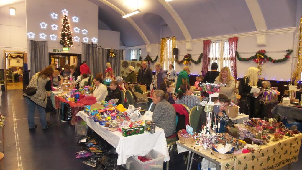 Ballantrae Christmas Craft Fair on today until 4pm - Ballantrae hall.