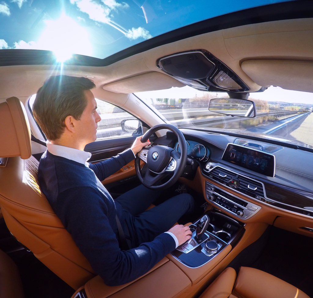 Driving the all-new @BMW 7 series from Frankfurt to Amsterdam!