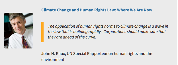 Read John Knox @SREnvironment on #ClimateChange & #HumanRights Law https://t.co/ZXdV1DqUxq #COP21 https://t.co/JuDL5xr4uo