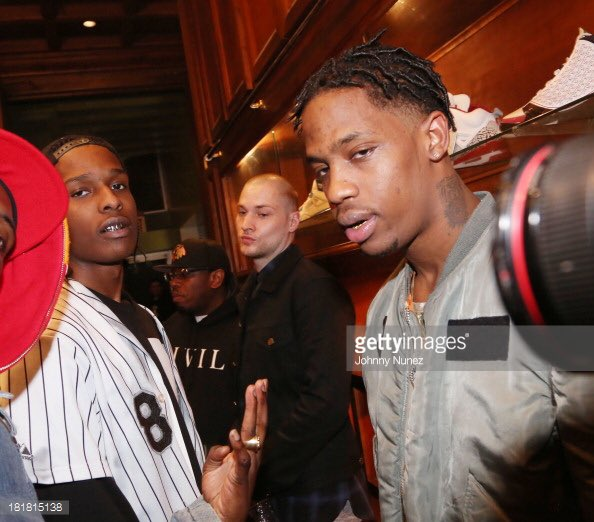 On twitter quot no that s asap rocky with travis scott https t co