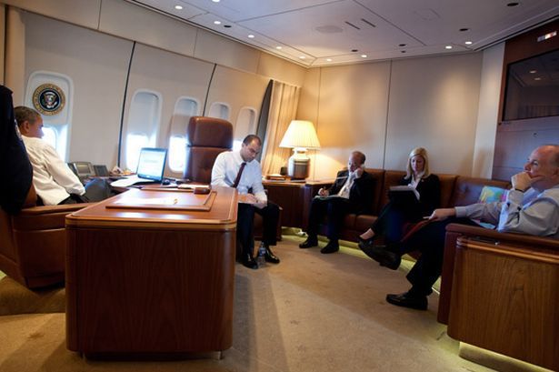 Mrs Goodlife On Twitter Inside The Air Force One Us: air force one interior