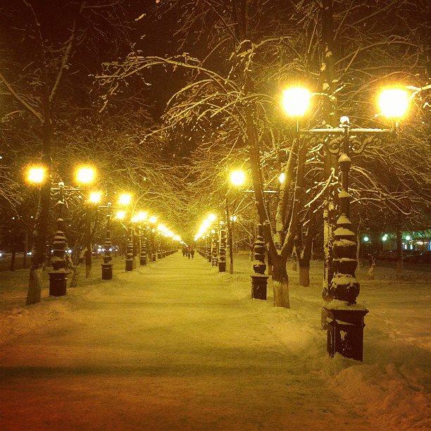 ночная уфа фото зимой вам нравится