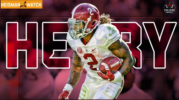 Espn Collegefootball On Twitter Derrick Henry Is Now Alabama S
