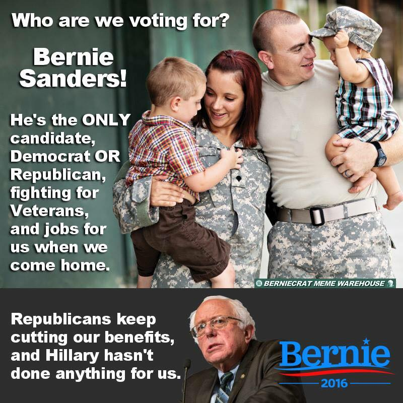 CU78tkUVEAADRWG who are we voting for? bernie sanders! he's the only candidate