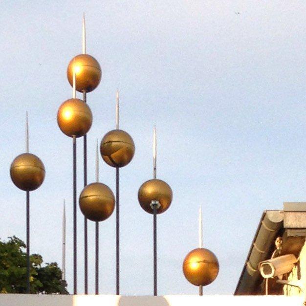 Decorated surveillance #karolinelund #igersaalborg #photography #photopoetry #poetry #surveillance by poeticweekday