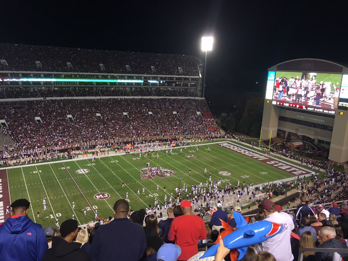The Rebels defeat Mississippi State 38-27 to keep the Golden Egg in Oxford! Hotty Toddy! #BeatState https://t.co/DOvECGMu6m