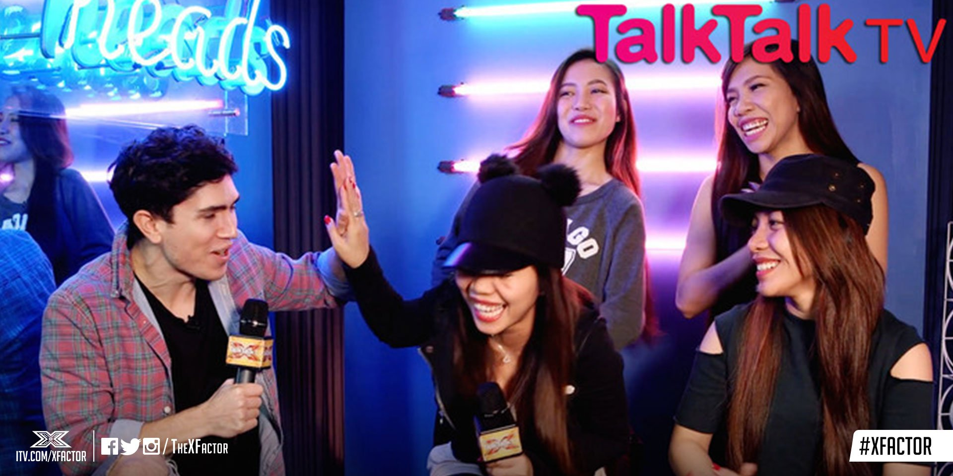 .@Luke_Franks has a chat with @4thImpactMusic backstage at #XFactor Jukebox Week: https://t.co/89YODk0N5b #spon https://t.co/wMoaFHEUeD