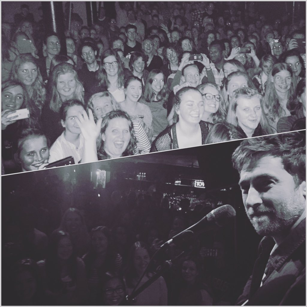 Amsterdam! Amazing night to end the tour. Thanks to you and to @jamielawsonuk for having me xo https://t.co/6PtewnkNap