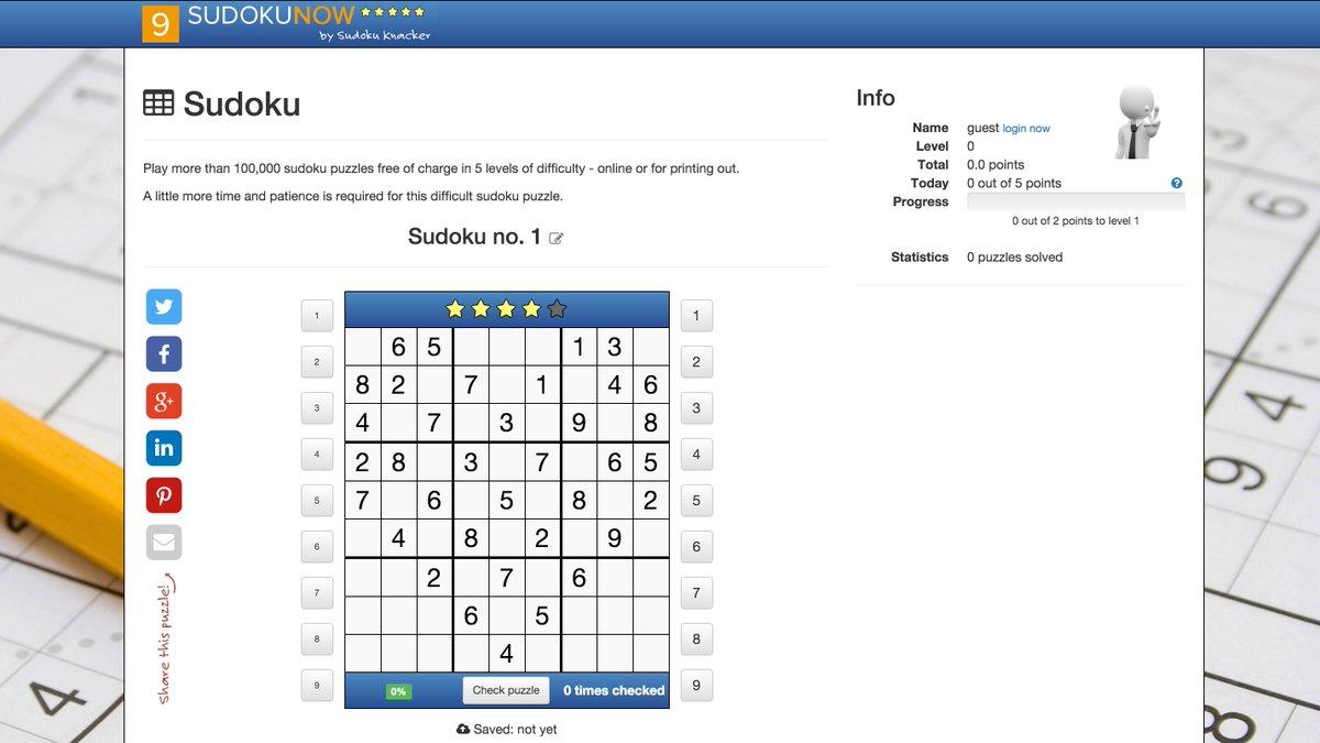 Sudoku Knacken