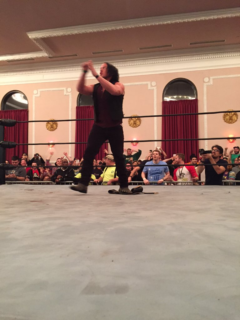 Former NXT star Solomon Crowe aka Sami Callihan returns to AAW